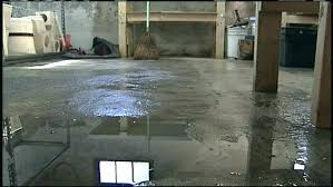 water seeping through basement floor water coming up through concrete floor water seeping through basement floor