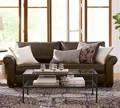 pottery barn living rooms furniture. Incredible Say Hello To Pottery Barn Us Performance Fabric Collection For Leather Chairs Inspiration And Ottoman Living Rooms Furniture S
