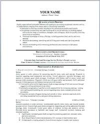 Resume With Salary History Example