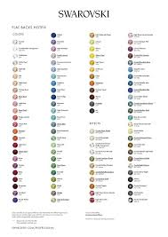 Swarovski Hotfix Crystals Size Chart Swarovski Size Color Charts The Sparkle Bus