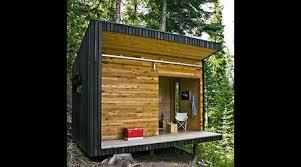 Off the grid modern prefab homes Sachhot Signal Shed Primal Survivor Signal Shed Modern Offgrid Signal Shed In Oregon Green Design Blog