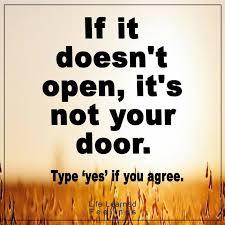 Open Door Quotes Inspiration Short Life Quotes Inspirational If It Doesn't Open It's Not Your Door