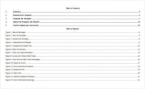 Indexation Chart Pdf 24 Table Of Contents Pdf Doc Free Premium Templates