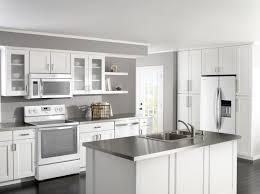 White Appliances In Kitchen Kitchen Cabinet Ideas With White Appliances Interior Exterior