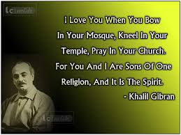 American Artist Kahlil Gibran Top Best Quotes With Pictures