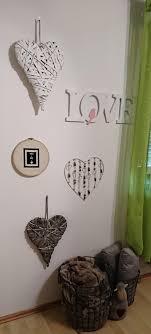Wandgestaltung Schlafzimmer Love Wanddeko Decke