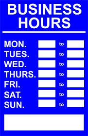 printable store hours sign printable business hours sign oxynux org
