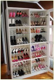 closet shelf shoe organizer system