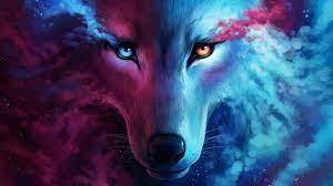Galaxy Wolf Desktop Wallpapers ...