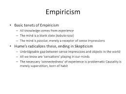 transition to immanuel kant ppt 3 empiricism