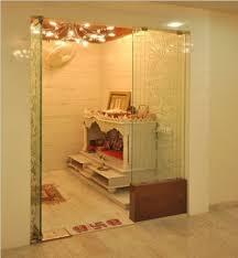 pooja room glass door designs images