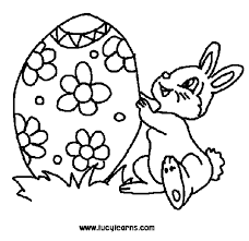 Small Picture Art Exhibition Easter Bunny Coloring Pages To Print at Children
