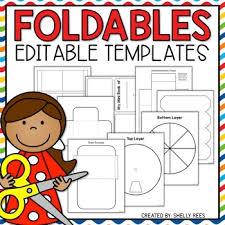 Editable Foldable Templates Foldable Templates Editable Foldables Mini Book Envelope Flaps