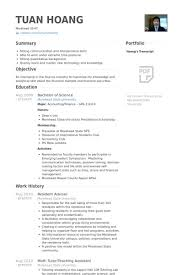 Resident Assistant Resume Example Earpodco Interesting Resident Assistant Resume