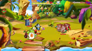 ANGRY BIRDS EPIC - INTO THE JUNGLE, PART 35 (iOS, Android, WP) - YouTube