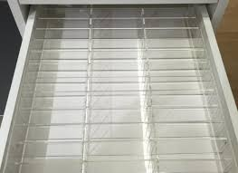 acrylic pact makeup drawer organizer for ikea alex