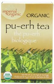 Imperial <b>Organic Tea</b>, <b>Pu-Erh</b>, 18 Tea Bags (Pack of 4) - Buy Online ...