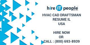 Draftsman Resumes Hvac Cad Draftsman Resume Il Hire It People We Get It Done