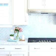 kitchen blue glass backsplash. Blue Glass Backsplash Kitchen Glazed Subway Tiles White  Cabinets With Transitional Light Tile