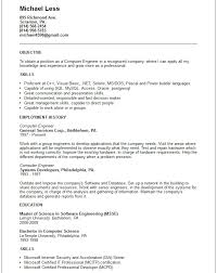 Computer Engineer Resume Example Contemporary Art Websites Resume