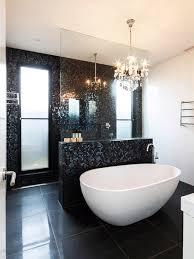black bathroom. Elegant Black Bathroom Tiles Best Tile 77 For Your Regarding Idea 2