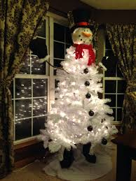 Innovation Design Snowman Head Christmas Tree Topper With Lighted For
