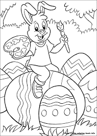 easter coloring book coloring picture full page coloring sheets