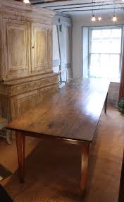 large 19c french farmhouse table in fruitwood