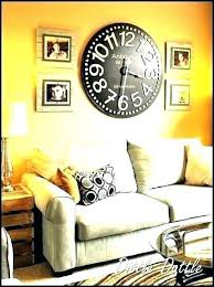 wall of clocks decor big wall clocks clock decorating ideas gallery interior design living room decor