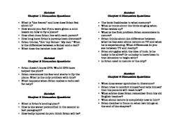 hatchet teaching resources teachers pay teachers hatchet chapter discussion questions hatchet chapter discussion questions