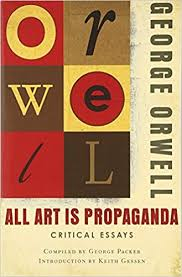 all art is propaganda critical essays george orwell keith gessen  all art is propaganda critical essays george orwell keith gessen 9780156033077 books amazon ca