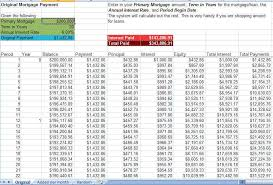 Additional Principal Payment Calculator Excel Spreadsheet Mortgage Payment Calculator Luxury Extra Principal