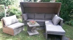 Gartenmöbel Rattan Polyrattan Garten Lounge Liosun Mit Sonnendach
