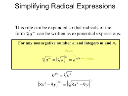 simplify radical form calculator