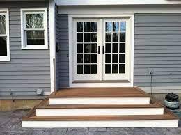 patio stairs patio steps