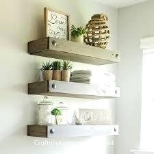 floating wood shelves floating wood shelves with led lights