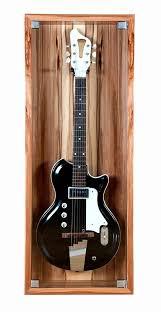 guitar display case custom bespoke solo by blok