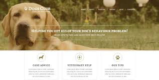 8 Dog Joomla Themes Templates Free Premium Templates