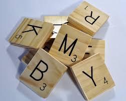 Scrabble Wall Tiles Large Scrabble Wall Tiles Solid Wood Dennis Caskey