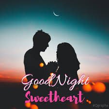 good night sweetheart romantic graphics