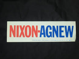 political campaign bumper stickers 1968 richard nixon election bumper sticker bills political shoppe