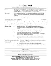 American Resume Example - Template