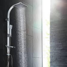 Duschsystem Regendusche Mit Handbrause Und Seifenablage