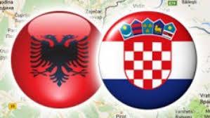 Image result for shqiptaret dhe kroatet flamur