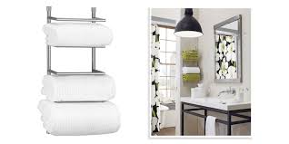 ... Wall Mounted Towel Rack For Rolled Towels Ideas: Inspiring Wall Mounted Towel  Rack Rack, Polished Chrome Bathroom ...
