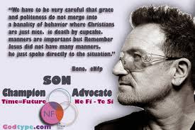 Bono Of U2 An Nf Idealist Personality Enfp Infp Enfj Infj