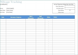 Free Mileage Log Templates Free Mileage Log Template Google Sheets Dailystonernews Info