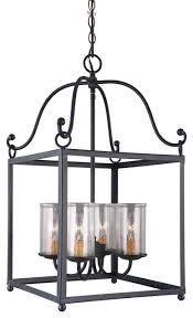 feiss f2907 4af declaration 4 light antique forged iron chandelier