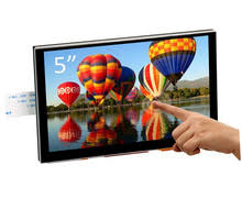 New 5 inch TFT LCD Display Capacitive Touch Screen DSI ...