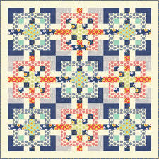 Cover Quilt Alert: All In Knots in FONS & PORTER'S EASY QUILTS ... & Design 1f_59.5 x 59.5 Adamdwight.com